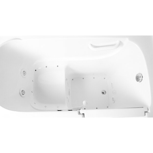 48 x 29 Dual Air and Whirlpool Walk-In Bathtub by Ariel Bath