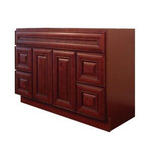 Maple 48u201d Single Bathroom Vanity Base