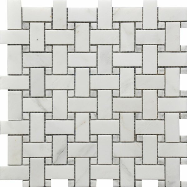 Marbella Random Sized Marble Mosaic Tile