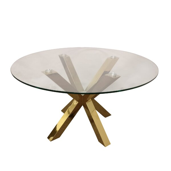 Leech Dining Table by Everly Quinn