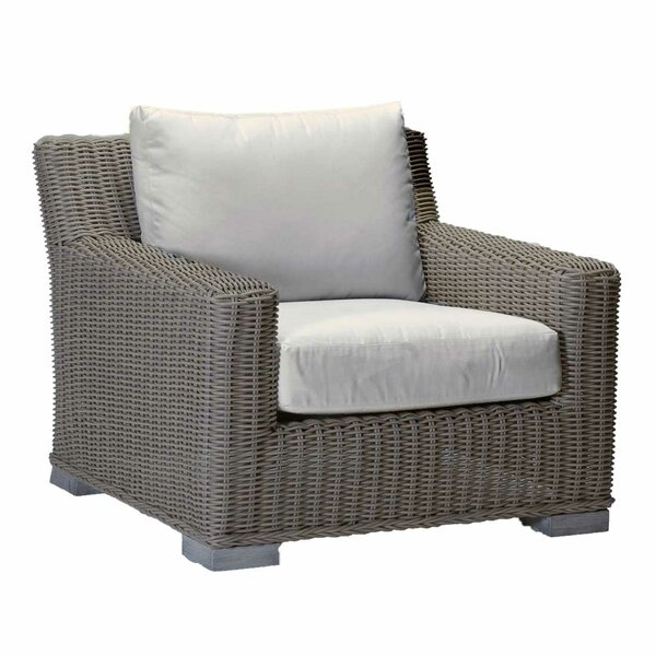 Rustic Patio Chair with Cushions by Summer Classics