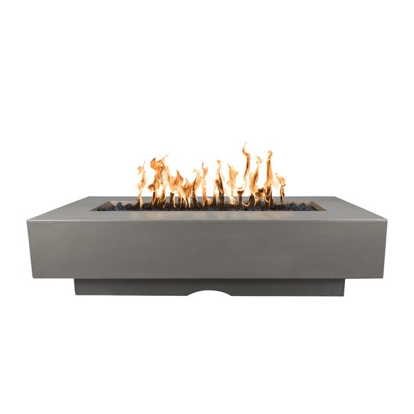 Del Mar Concrete Fire Pit Table by The Outdoor Plus
