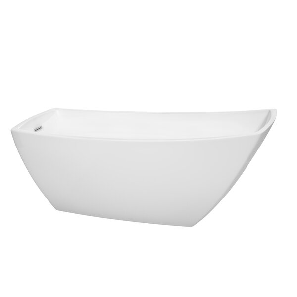 Antigua 67 x 31 Soaking Bathtub by Wyndham Collection
