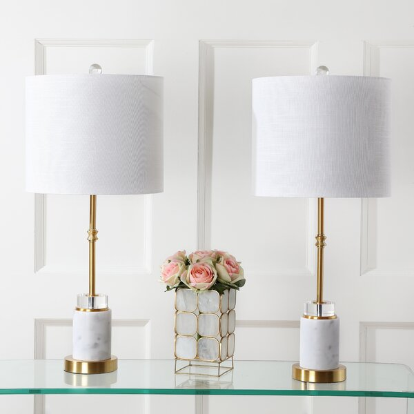 Kirkbride 27 Table Lamp (Set of 2) by Everly Quinn