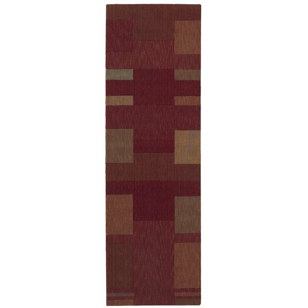 Loom Select Wool Brick Area Rug