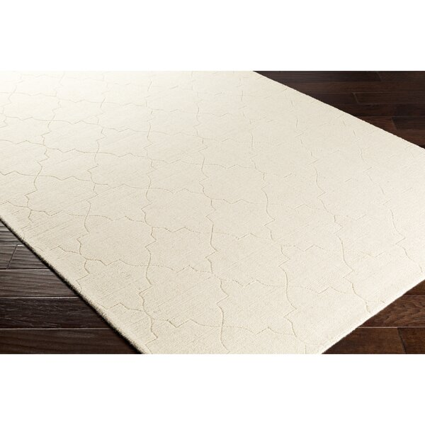 Swindell Hand-Loomed Neutral Area Rug by Charlton Home