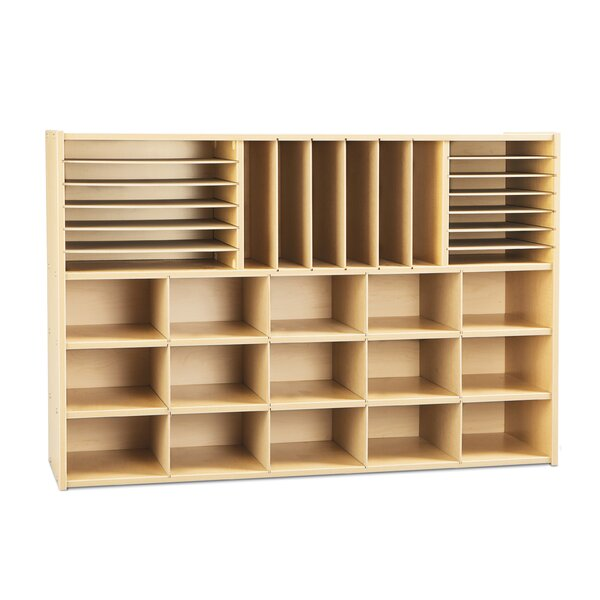 33 Compartment Cubby by Young Time
