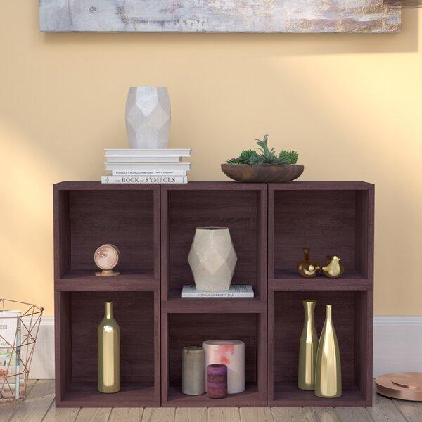 Dehart Geometric Bookcase by Ebern Designs