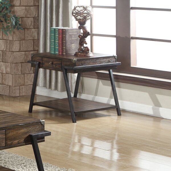 Bocanegra End Table By Wrought Studio