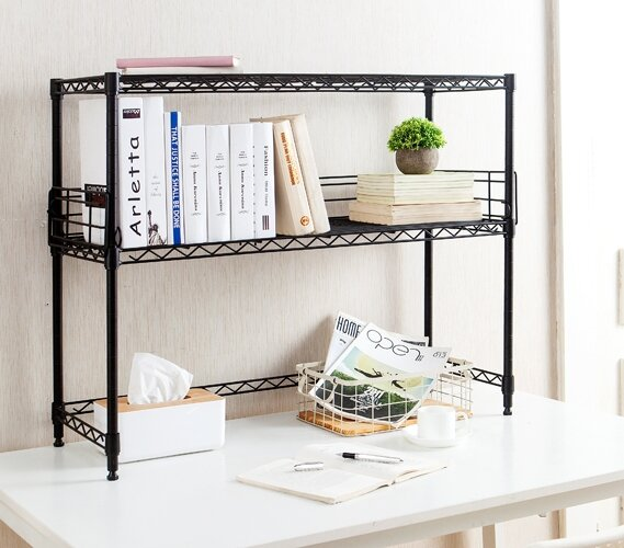 Burroughs Desktop Etagere Bookcase By Rebrilliant