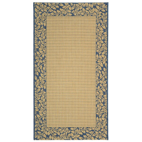 Lippold Brown/Blue Indoor/Outdoor Area Rug by Charlton Home