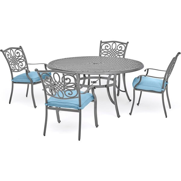 Woodacre 5 Piece Dining Set by Charlton Home