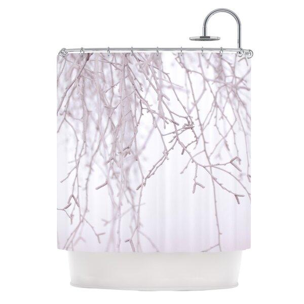 Frozen by Monika Strigel Shower Curtain by East Urban Home