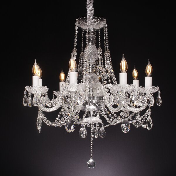 Rodriguez 8-Light Candle Style Classic / Traditional Chandelier By Astoria Grand