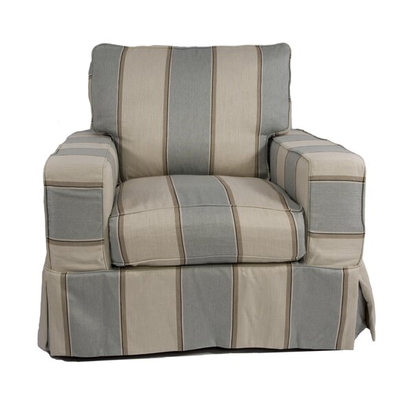 Glenhill Armchair Slipcover by Rosecliff Heights