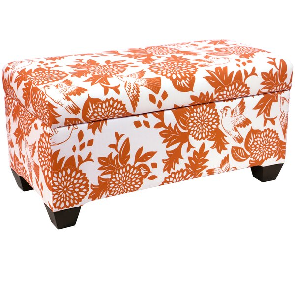 Bay State Linen Upholstered Storage Bench by Darby Home Co