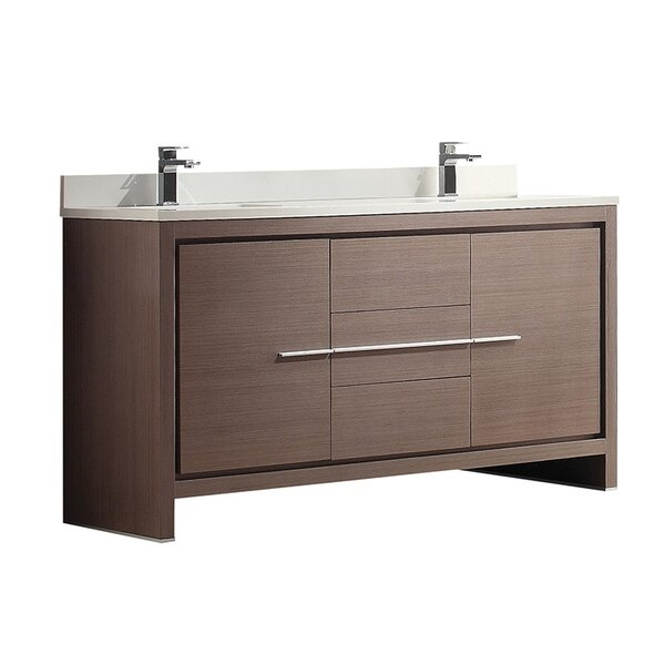 Allier 60 Double Bathroom Vanity Set by Fresca