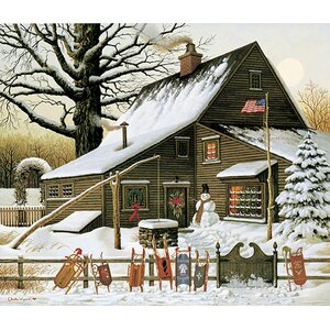 'Cocoa Break at the Copperfields' by Charles Wysocki Painting Print by Hadley House Co