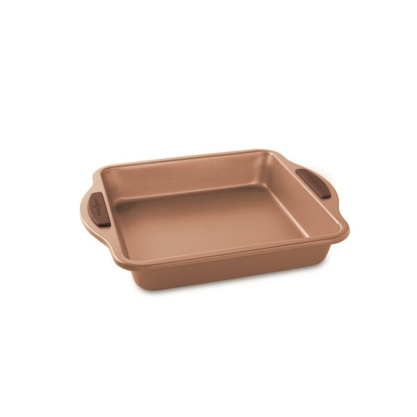 Non-Stick Square Freshly Baked Cake Pan by Nordic Ware