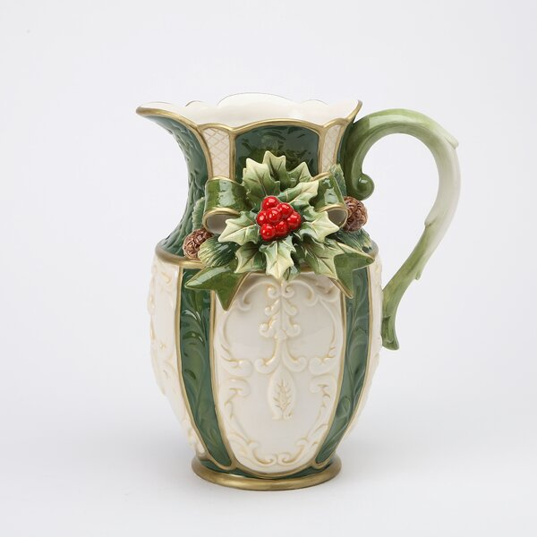 Holly Pitcher by Cosmos Gifts