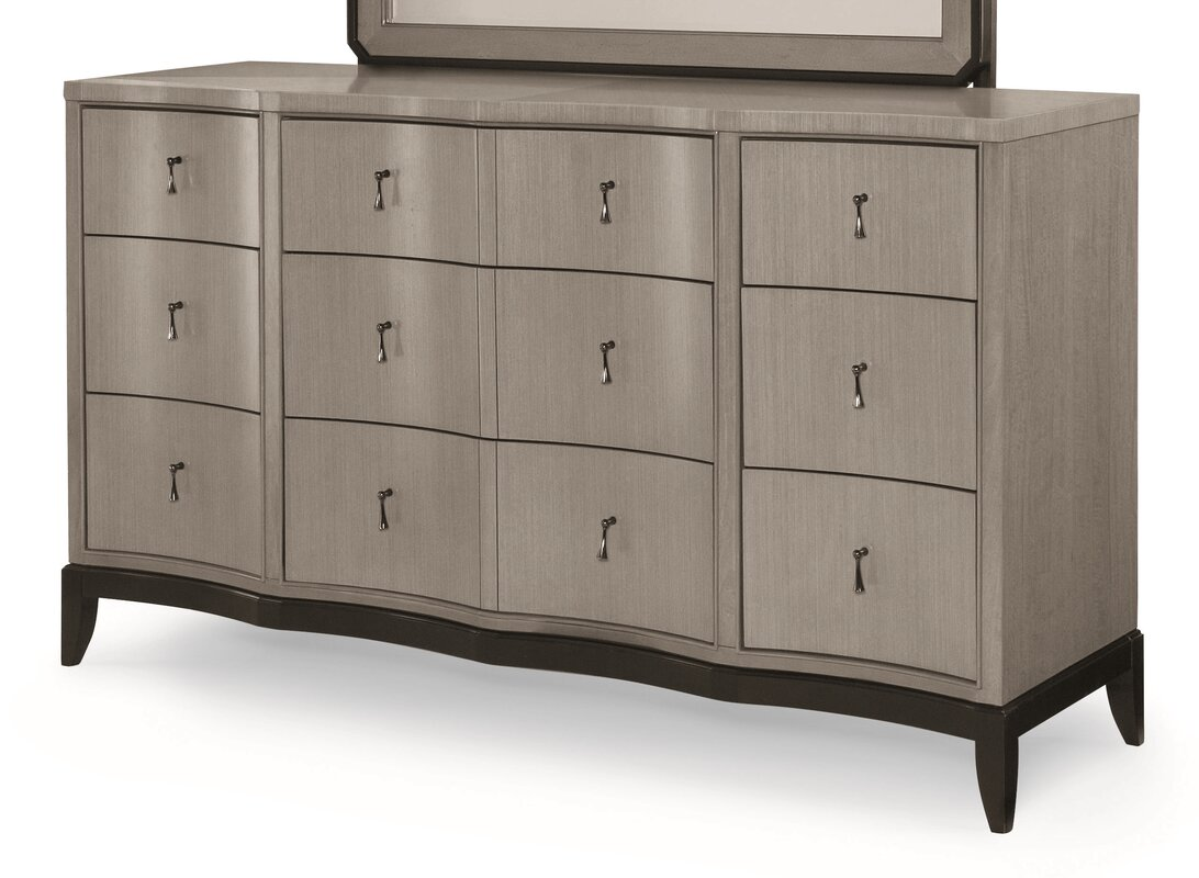 Willa arlo interiors bonif cio 9 drawer dresser reviews - Willa arlo interiors keeley bar cart ...