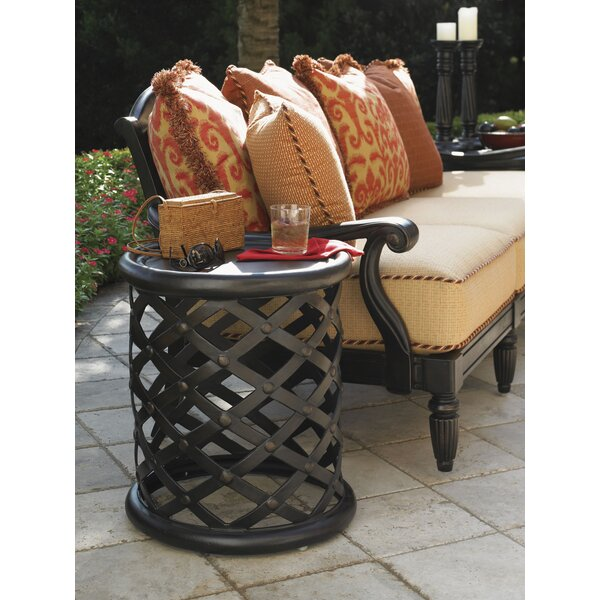 Kingstown Sedona Aluminum Side Table by Tommy Bahama Outdoor Tommy Bahama Outdoor