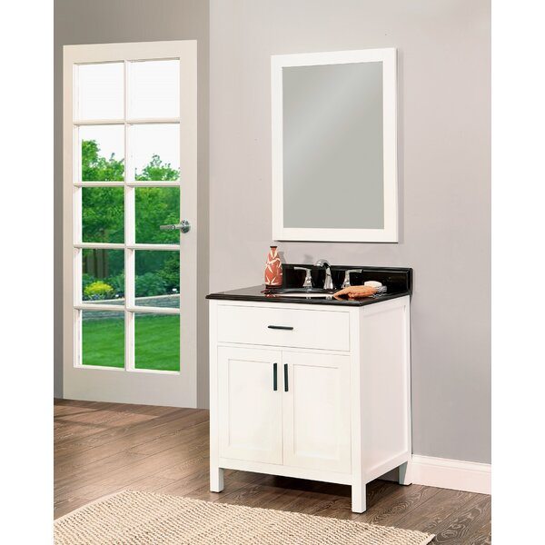 Arezzo 30 Single Bathroom Vanity with Mirror by NGY Stone & Cabinet
