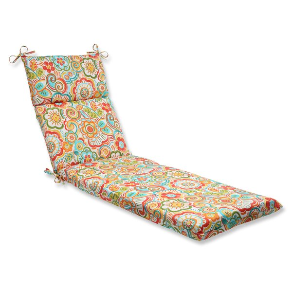 Kilroy Indoor/Outdoor Chaise Lounge Cushion by Latitude Run