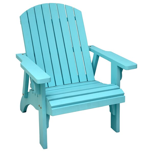 Solid Wood Adirondack Chair by Casual Elements
