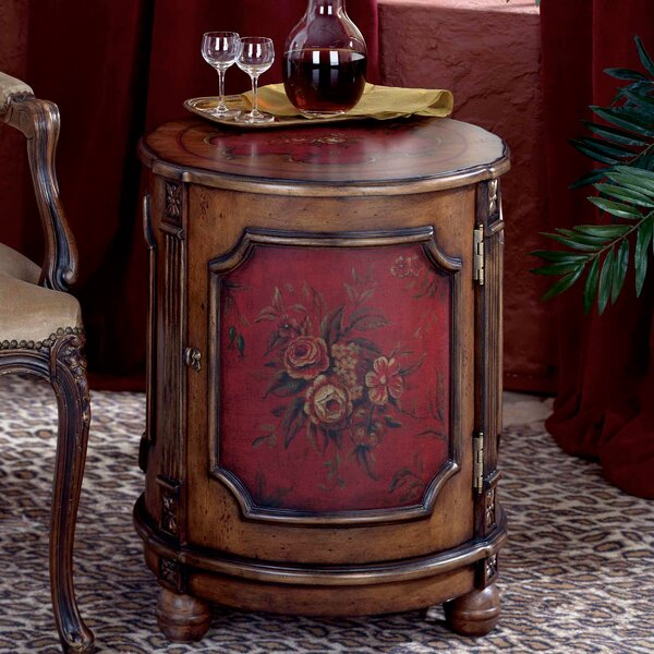 Thurmond Drum End Table By Butler