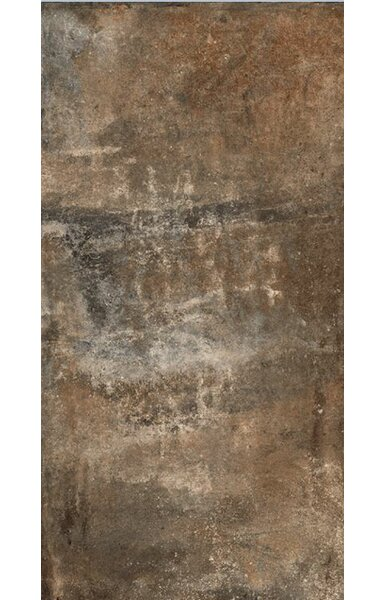 Argile 12 x 24 Porcelain Field Tile in Matte Brown by Tesoro