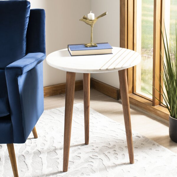 Leatrice 3 Leg End Table By Wrought Studio