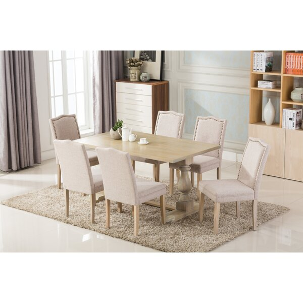 Patino Antique 7 Piece Dining Set by One Allium Way