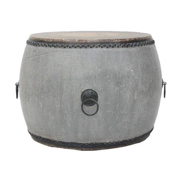 Drum End Table by Sarreid Ltd