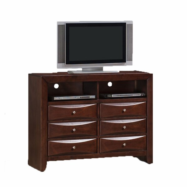 Patio Furniture Archer 6 Drawer Media Chest