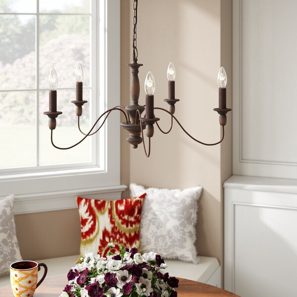 Sarah 5-Light Chandelier by Three Posts
