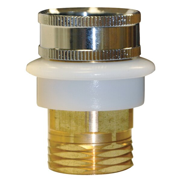 0.75'' GHT Male/Female Hose Adapter by Danco