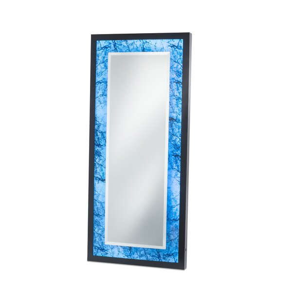 Quill Alabaster Infinity Leaner Full Length Mirror by Brayden Studio