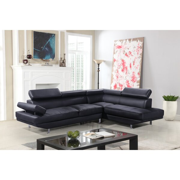Batista Right Hand Facing Sectional By Orren Ellis