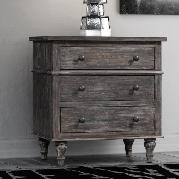 Johnson 3 Drawer Chest by World Menagerie