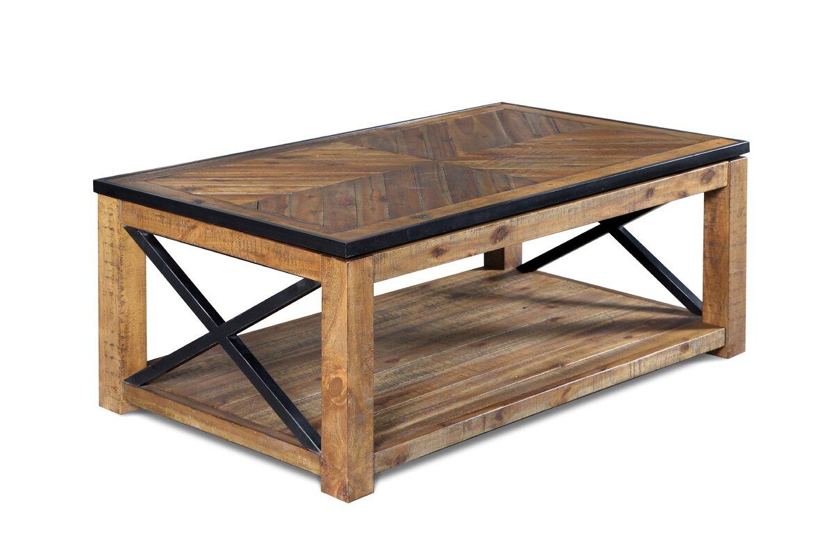 Loon Peak Kawaikini Coffee Table with Lift Top & Reviews