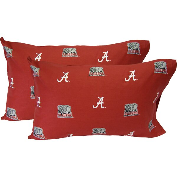 Collegiate Alabama Crimson Tide Pillowcase (Set of 2) by College Covers