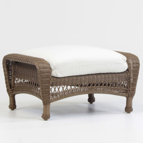 Savannah Ottoman With Cushion By South Sea Rattan by South Sea Rattan Reviews