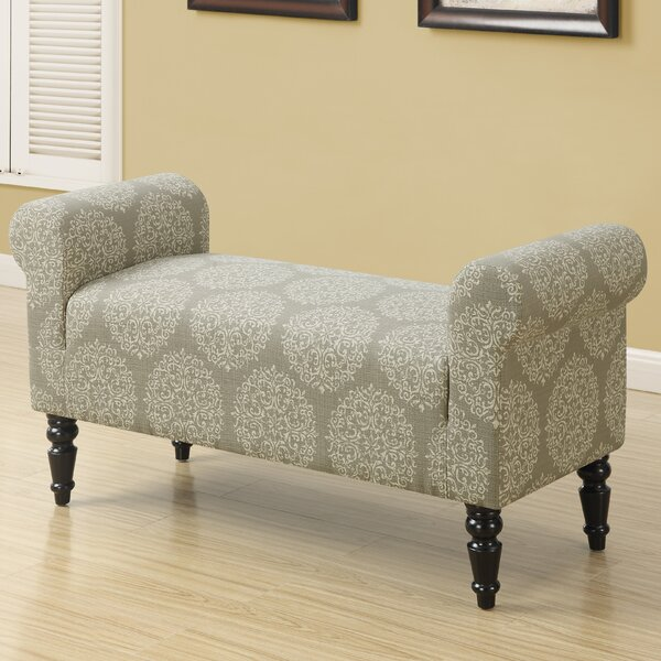 Taupe Fabric Bench by Monarch Specialties Inc.