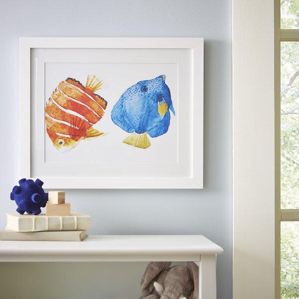 Underwater Duo Framed Print by Birch Lane Kids™