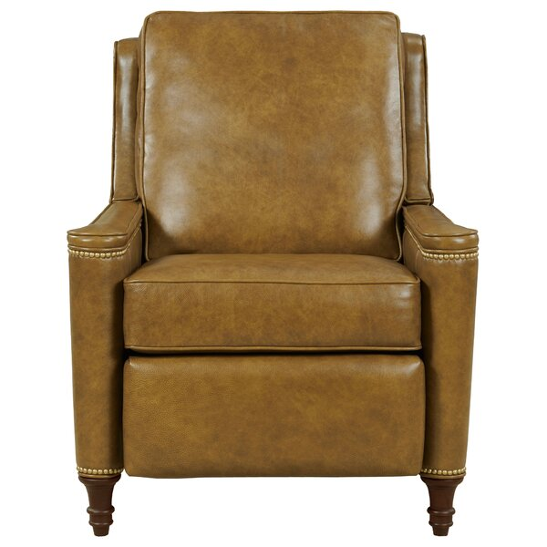 Dale 3 Way Leather Manual Recliner By Fairfield Chair