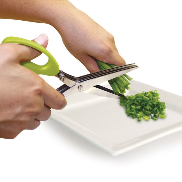 Five-Blade Herb Kitchen Scissor by Fab Findz