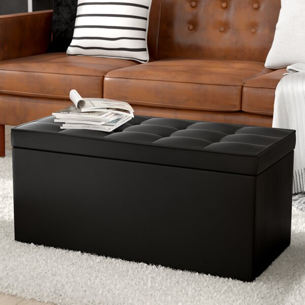 Nydam Upholstered Storage Bench by Ebern Designs