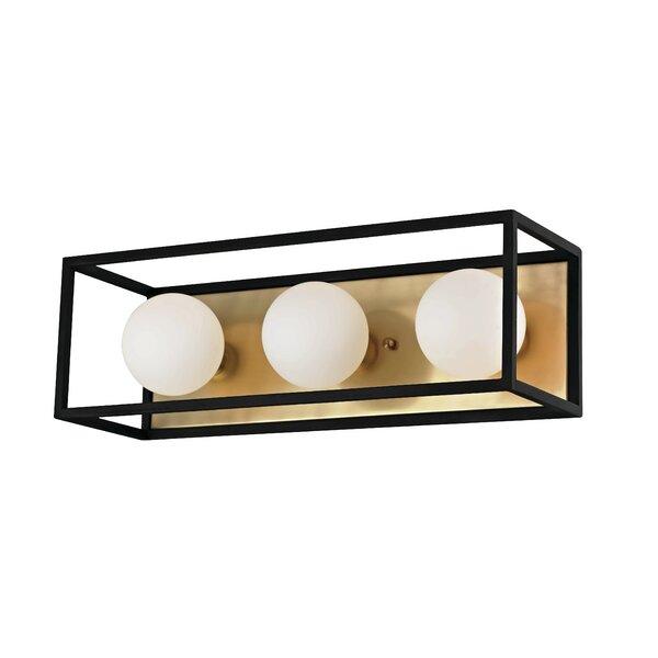 Garza 3-Light Bath Bar by Brayden Studio