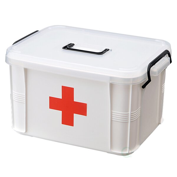 Small First Aid Medical Kit by Basicwise